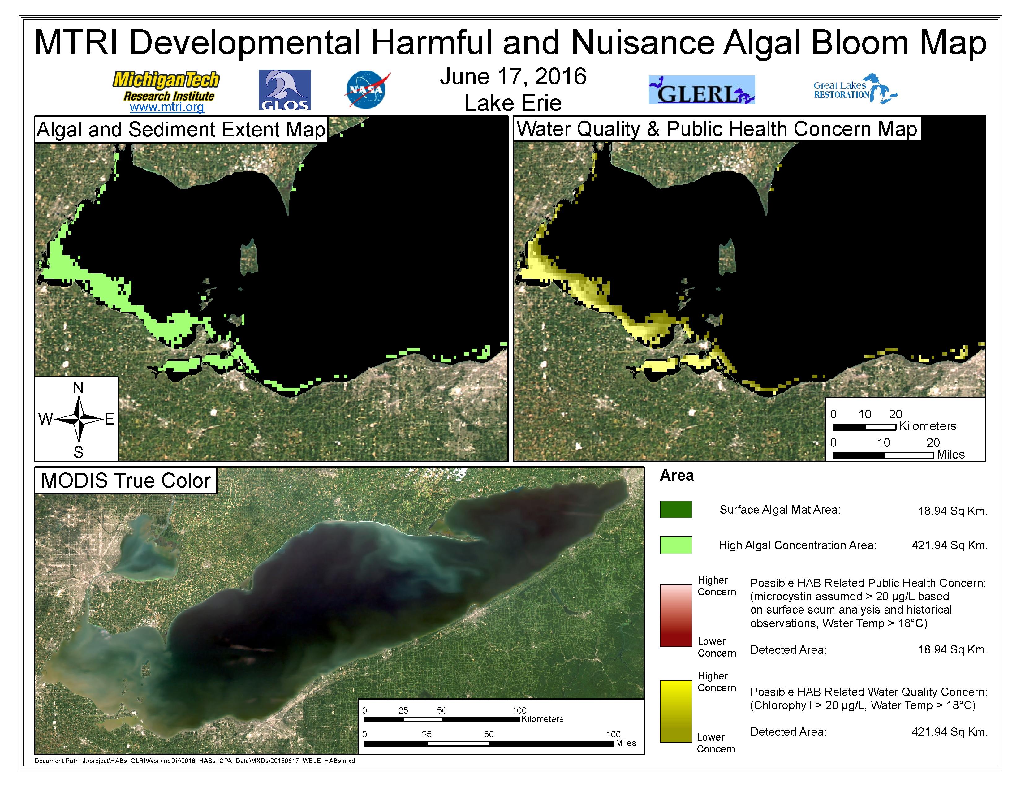 MODIS Aqua retrieval June 17, 2016
