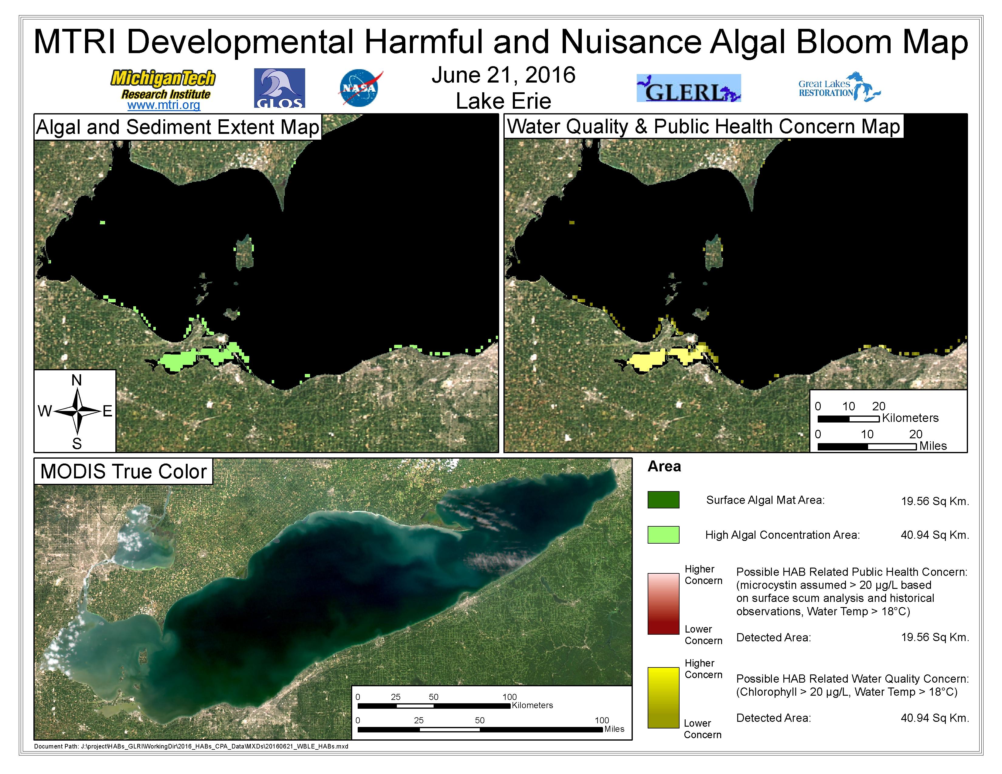 MODIS Aqua retrieval June 21, 2016