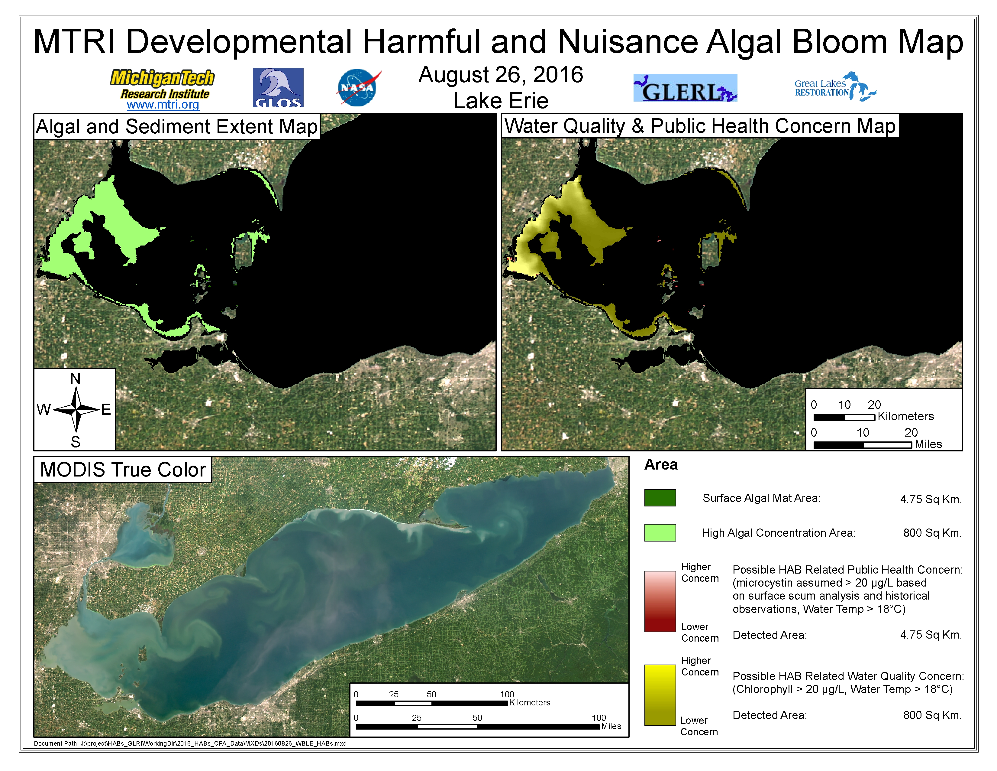 MODIS Aqua retrieval August 26, 2016