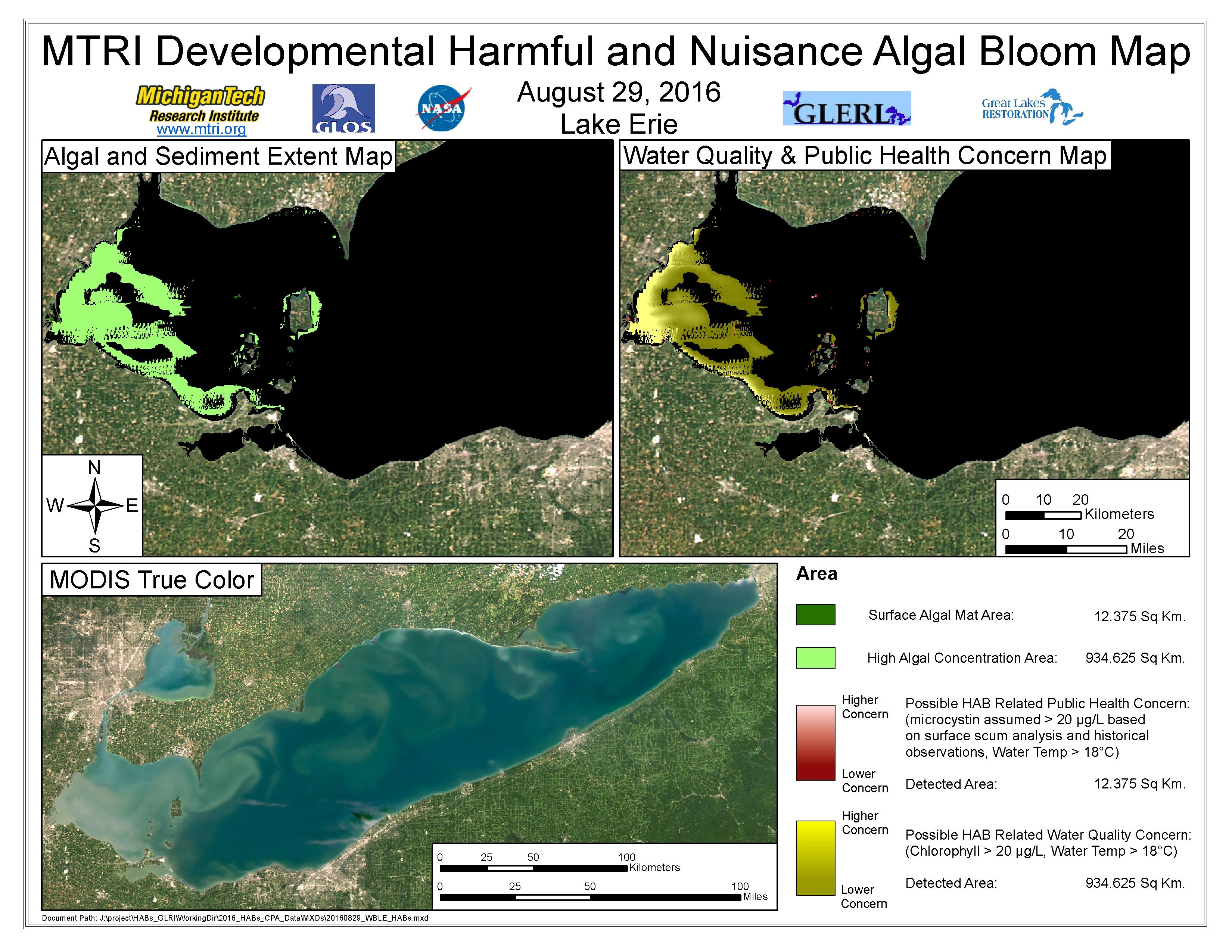 MODIS Aqua retrieval August 29, 2016