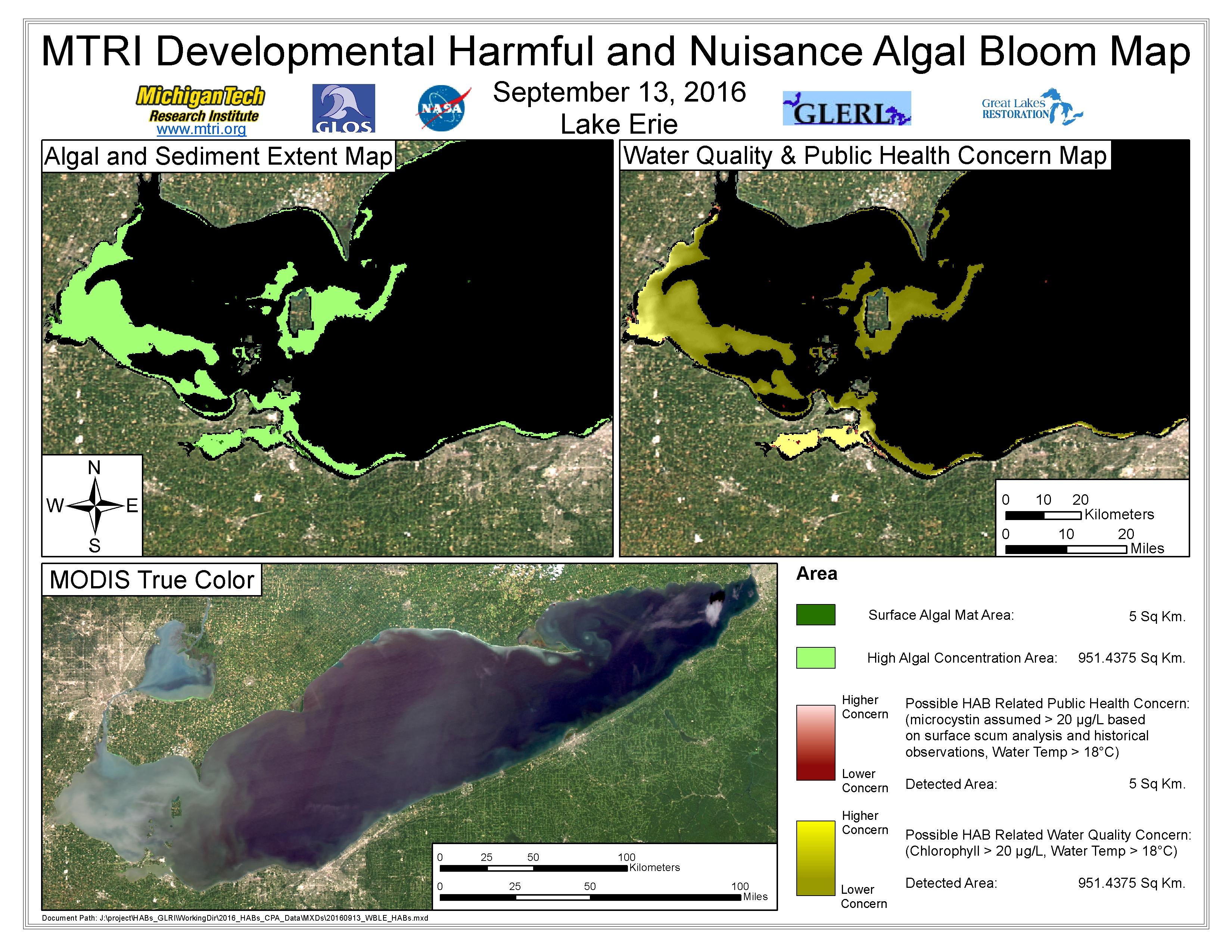 MODIS Aqua retrieval September 13, 2016
