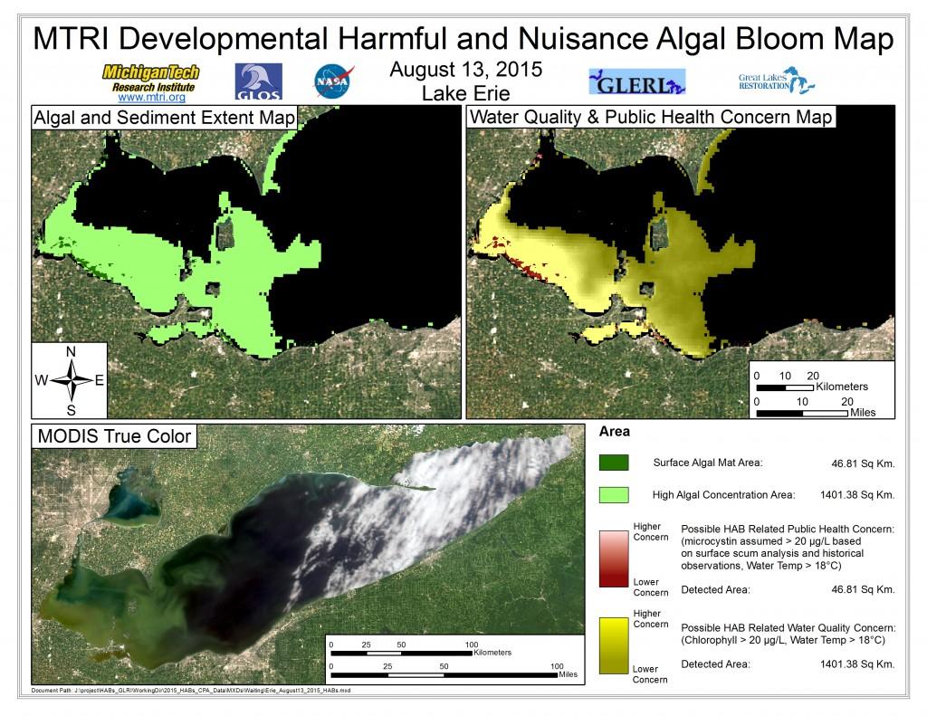 MODIS Aqua retrieval August 13, 2015