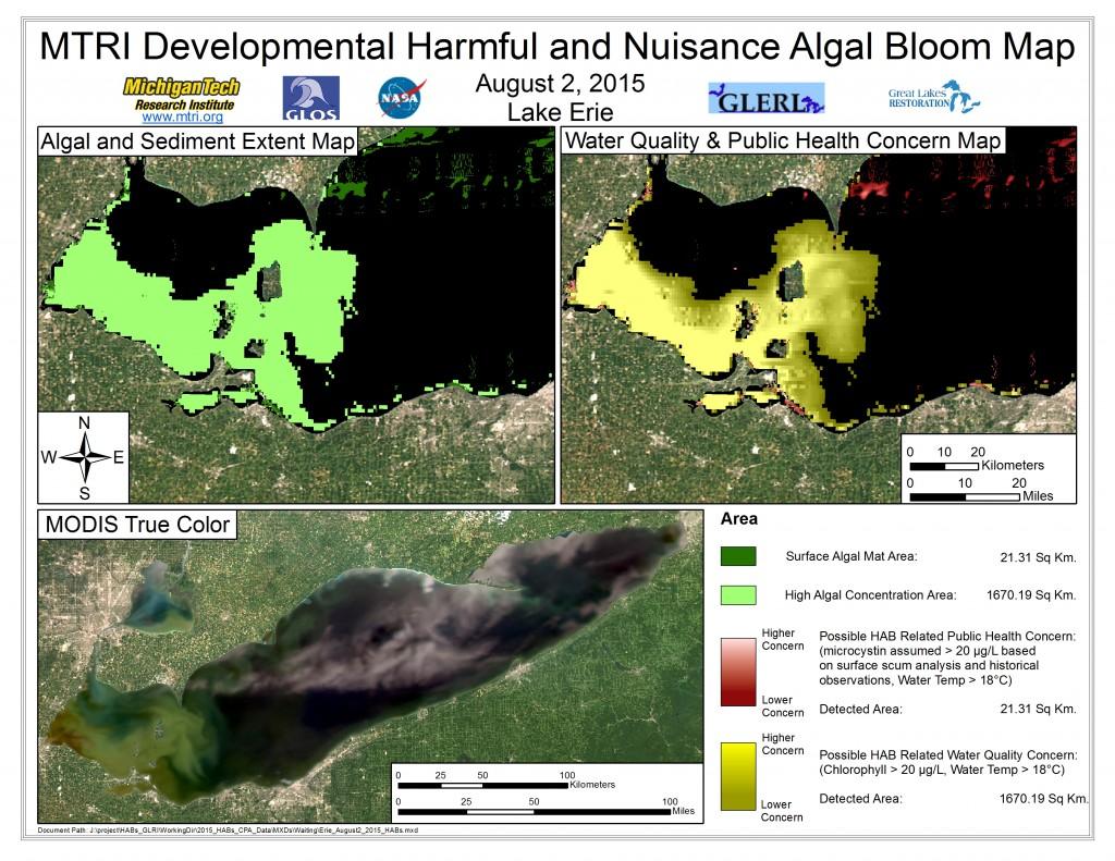 MODIS Aqua retrieval August 2, 2015
