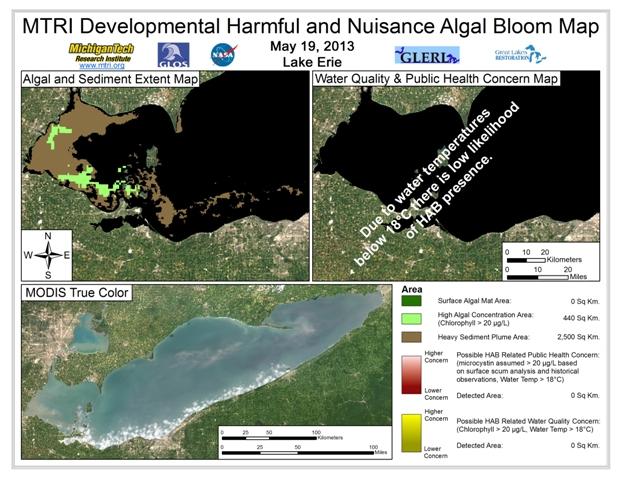MODIS Aqua retrieval form May 19, 2013