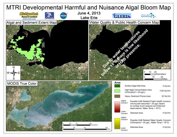 MODIS Aqua retrieval form June 4, 2013