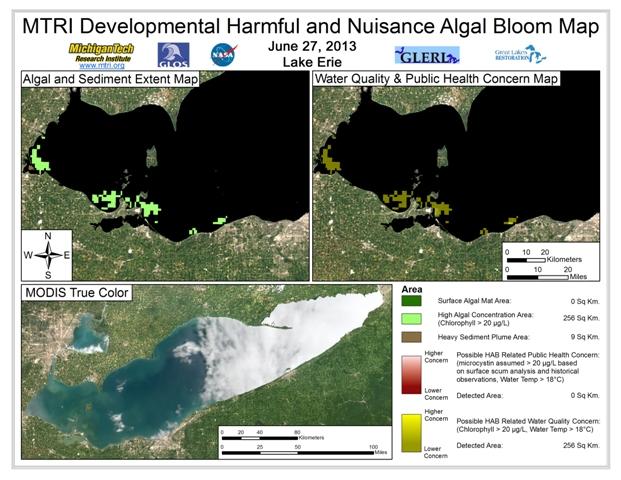 MODIS Aqua retrieval form June 27, 2013
