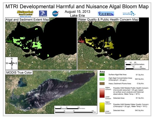 MODIS Aqua retrieval form August 15, 2013