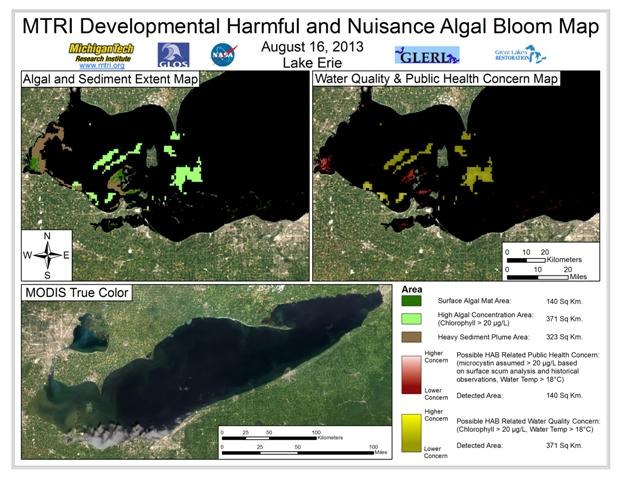 MODIS Aqua retrieval form August 16, 2013