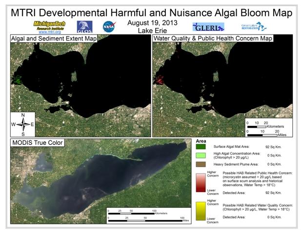 MODIS Aqua retrieval form August 19, 2013