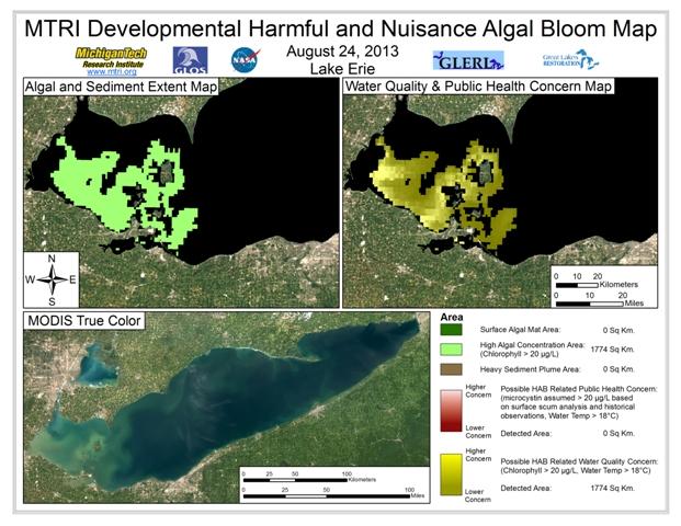 MODIS Aqua retrieval form August 24, 2013