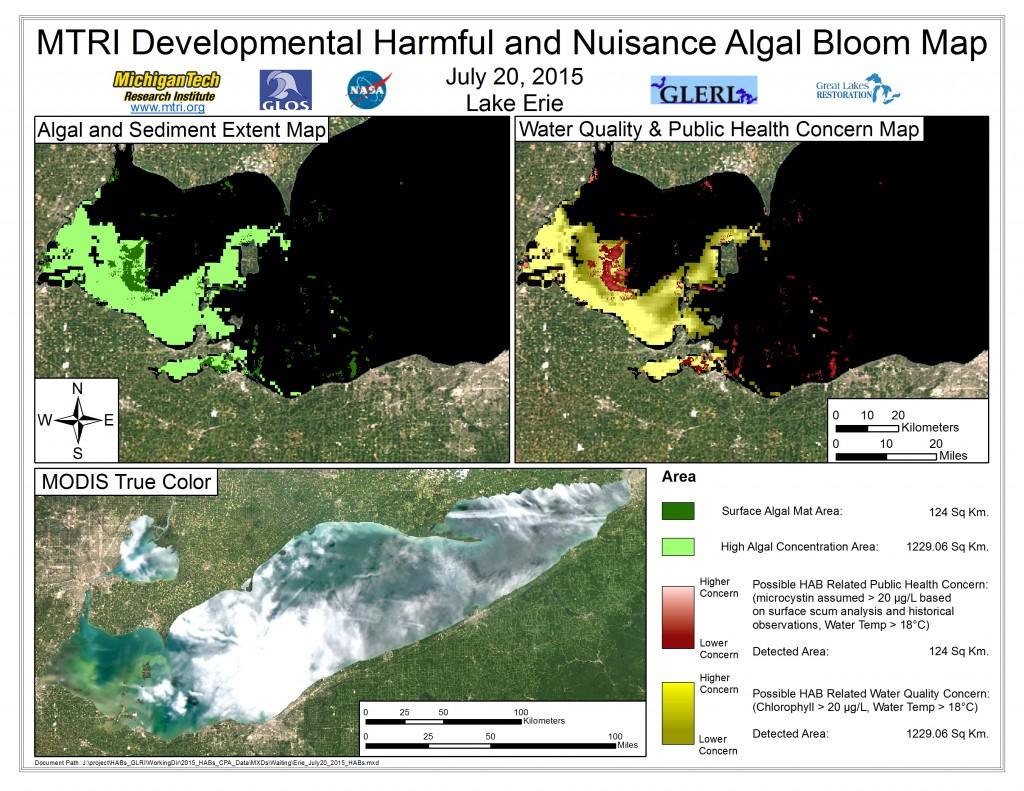 MODIS Aqua retrieval July 20, 2015