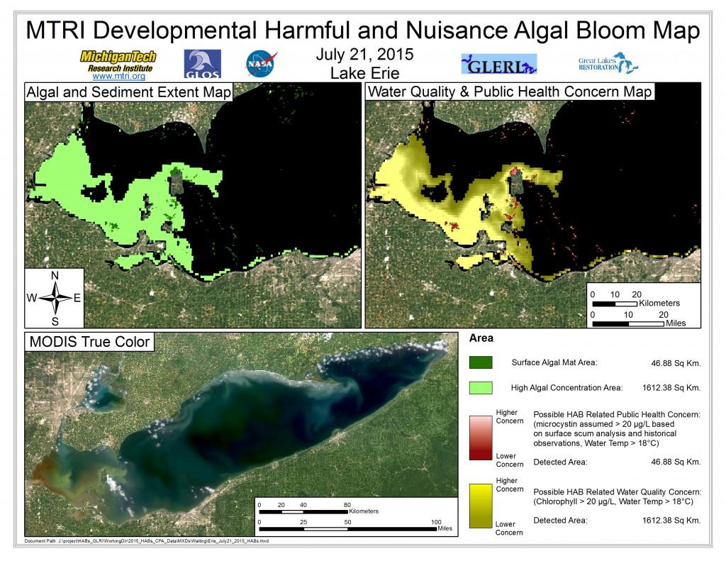 MODIS Aqua retrieval July 21, 2015