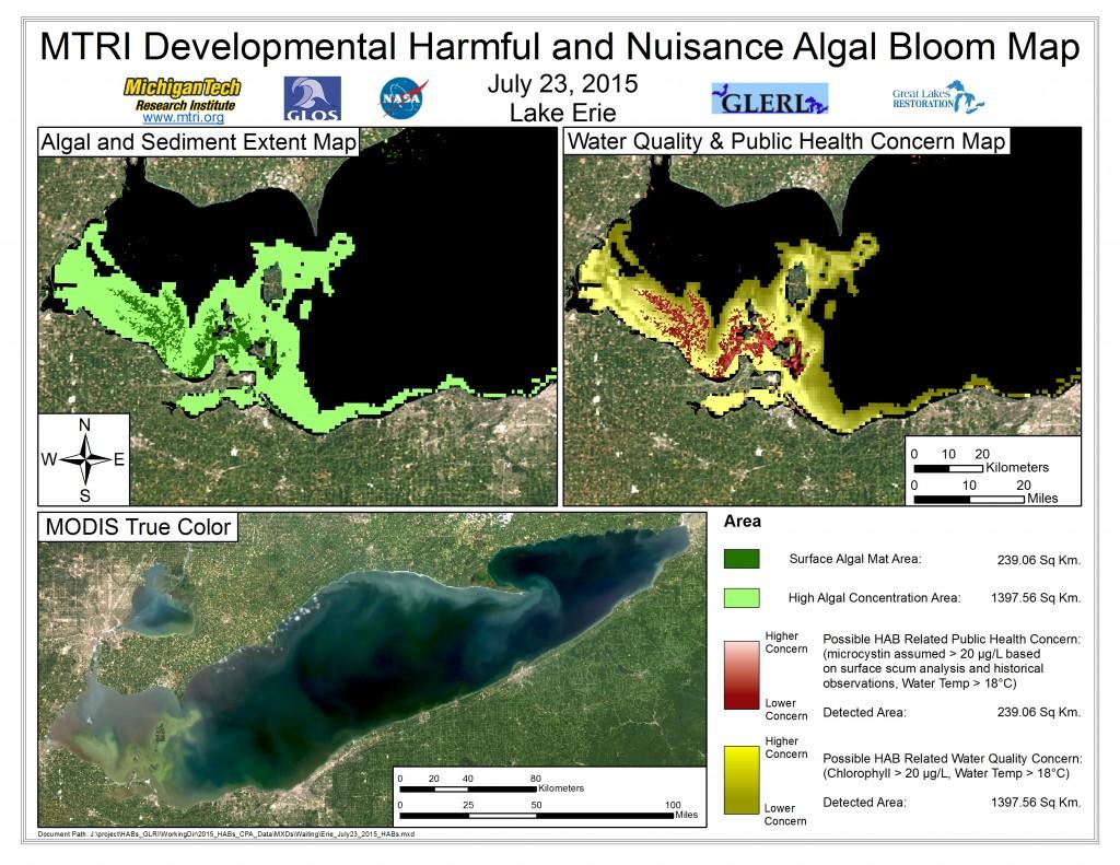 MODIS Aqua retrieval July 23, 2015