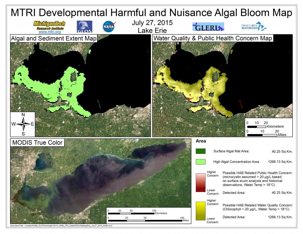 MODIS Aqua retrieval July 27, 2015