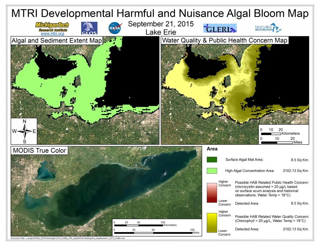 MODIS Aqua retrieval September 21, 2015