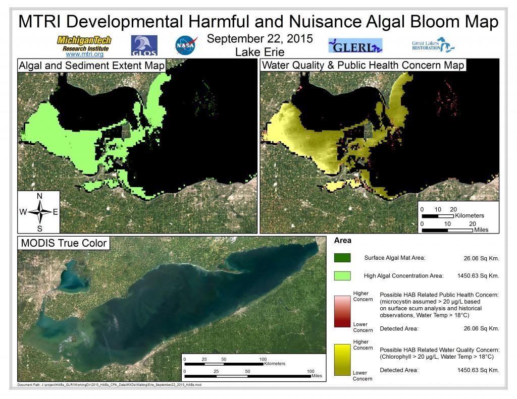 MODIS Aqua retrieval September 22, 2015