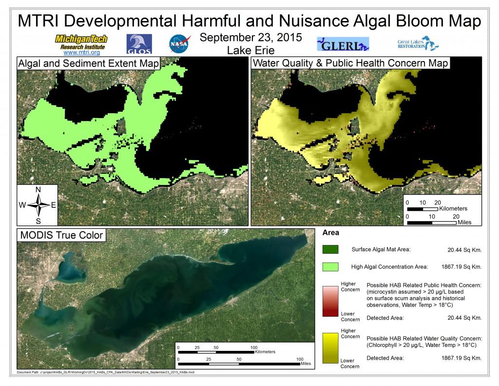 MODIS Aqua retrieval September 23, 2015