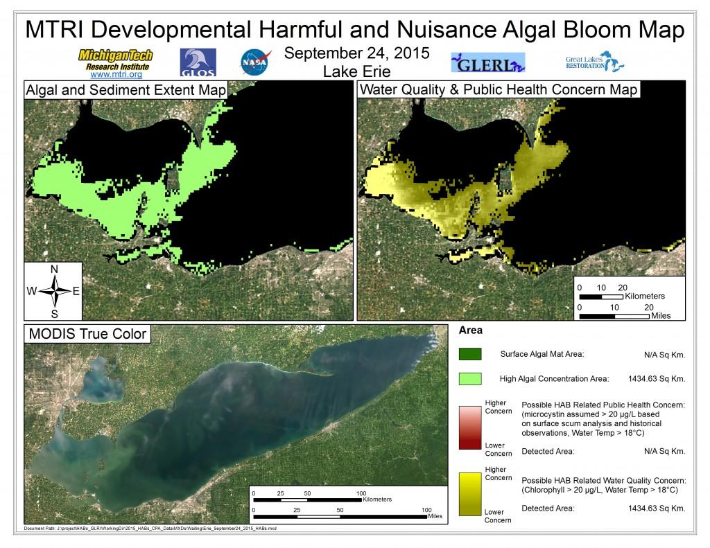 MODIS Aqua retrieval September 24, 2015