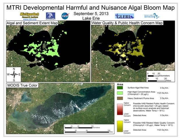 MODIS Aqua retrieval from September 5, 2013.