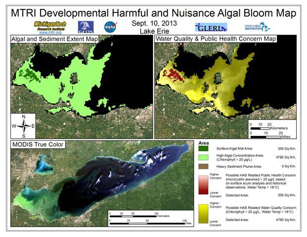 MODIS Aqua retrieval from September 10, 2013.