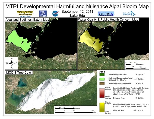 MODIS Aqua retrieval from September 12, 2013.