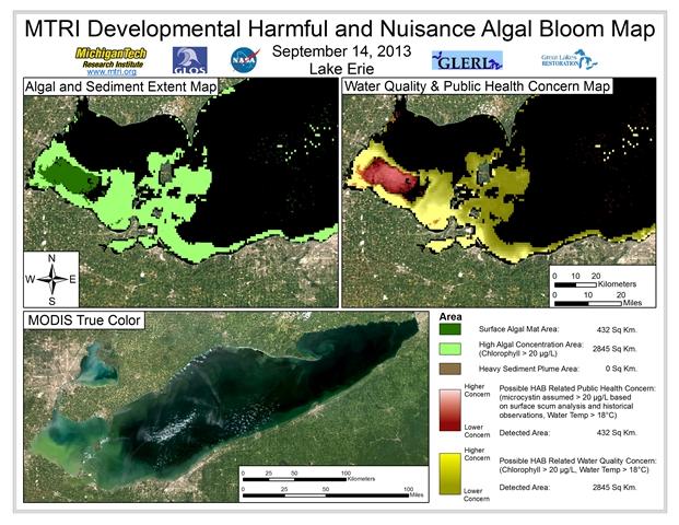 MODIS Aqua Retreival from September 14th, 2013