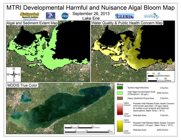 MODIS Aqua retrieval from September 26, 2013.