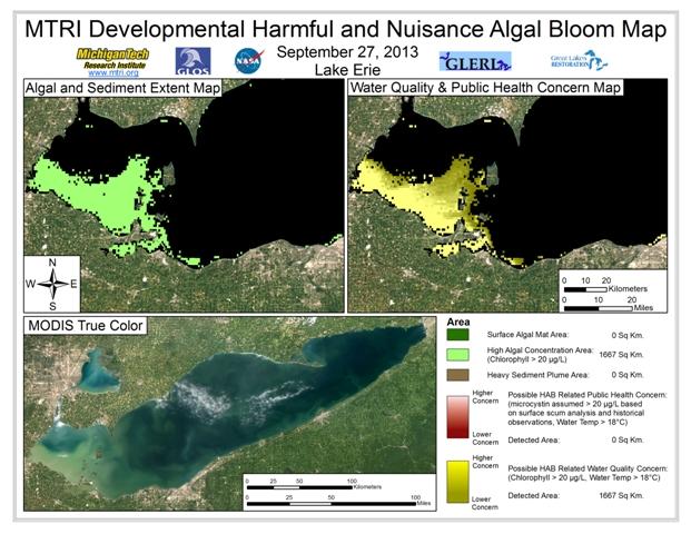 MODIS Aqua retrieval from September 27, 2013.
