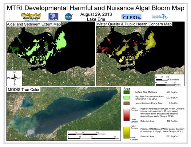 MODIS Aqua retrieval from August 29, 2013