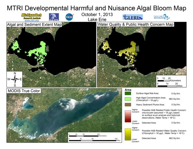 MODIS Aqua retrieval from October 1, 2013.