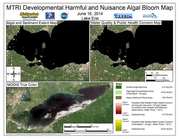 MODIS Aqua retrieval from June 16, 2014.