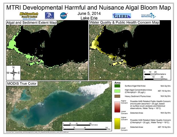 MODIS Aqua retrieval from June 5, 2014.