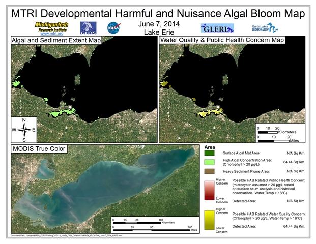 MODIS Aqua retrieval from June 7, 2014.