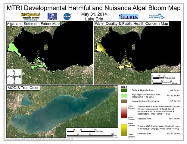 MODIS Aqua retrieval from May 31, 2014.