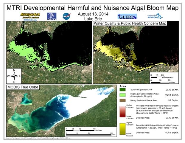 MODIS Aqua retrieval from August 13, 2014.