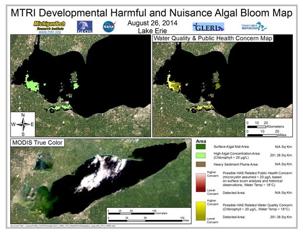 MODIS Aqua retrieval from August 26, 2014.
