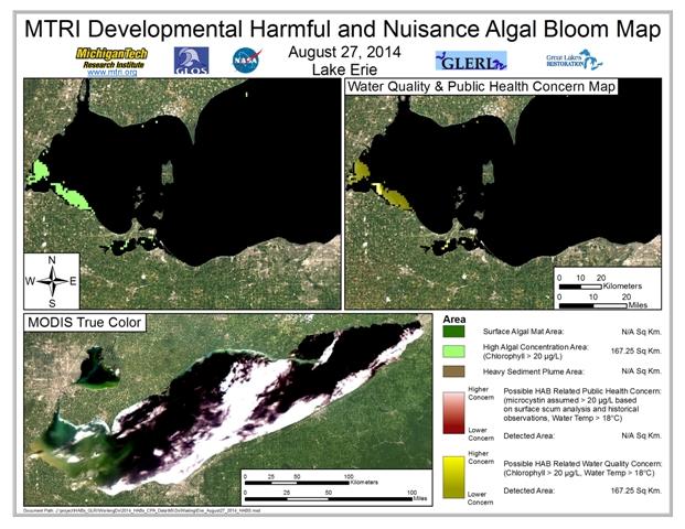 MODIS Aqua retrieval from August 27, 2014.