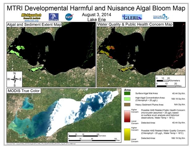 MODIS Aqua retrieval from August 3, 2014.