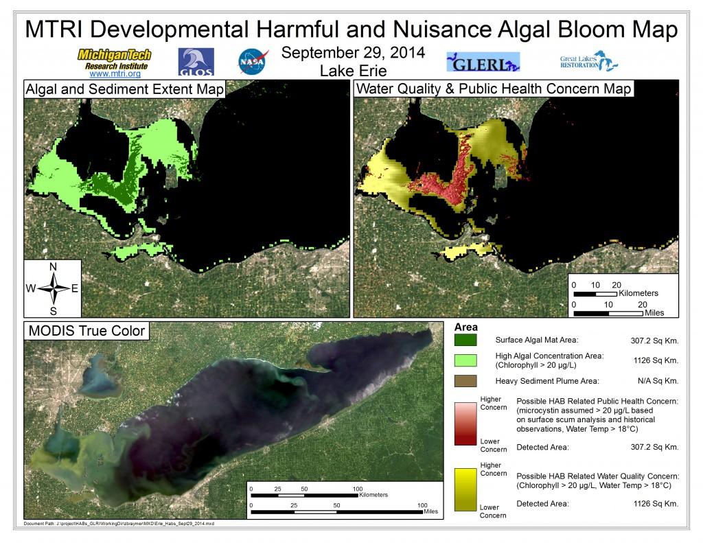 MODIS Aqua retrieval from September 29, 2014