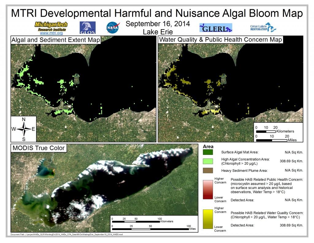 MODIS Aqua retrieval September 16, 2014