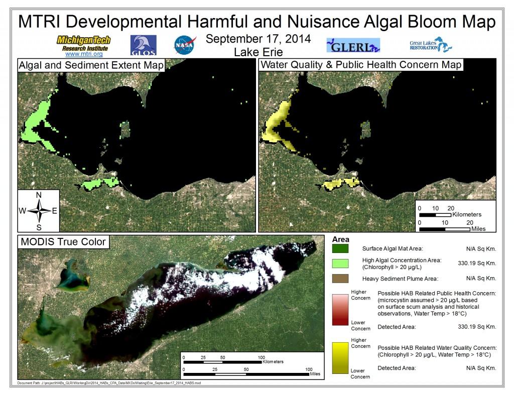 MODIS Aqua retrieval September 17, 2014