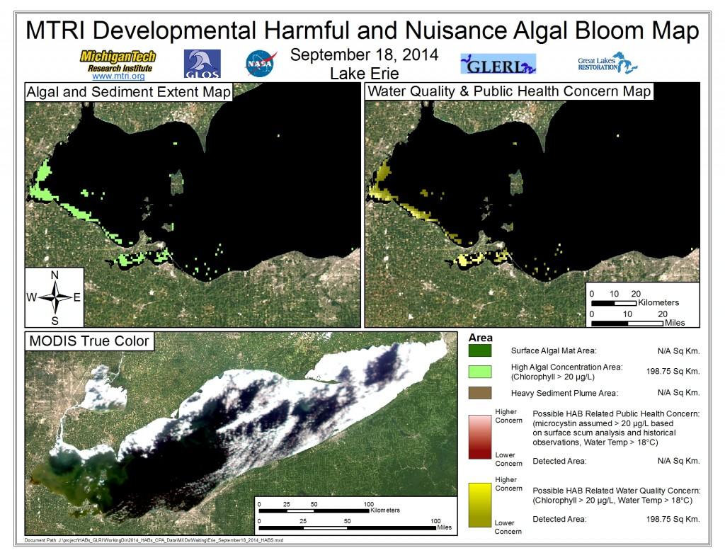 MODIS Aqua retrieval September 18, 2014