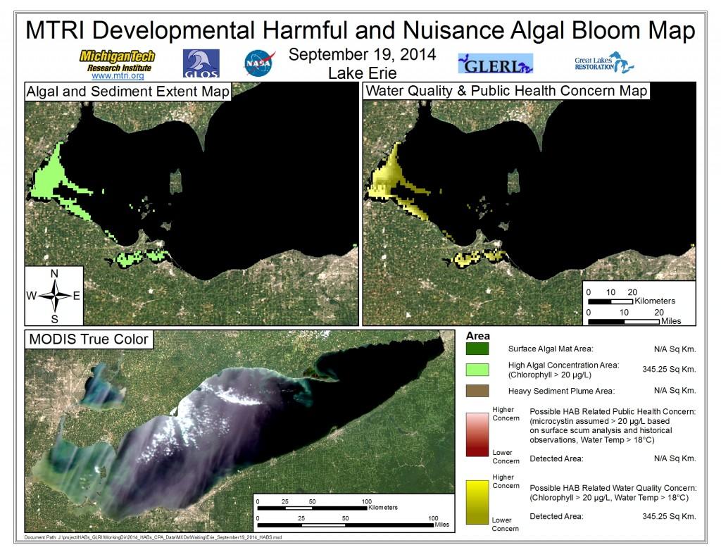 MODIS Aqua retrieval September 19, 2014