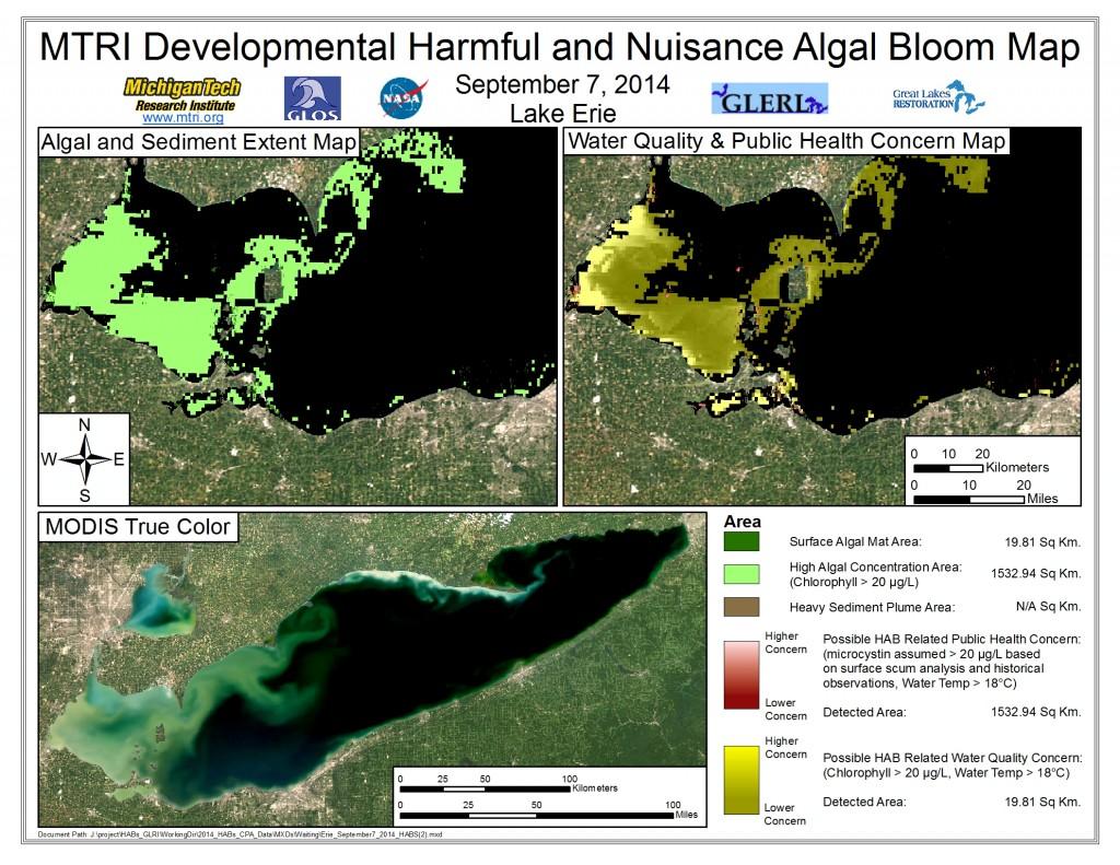 MODIS Aqua retrieval September 7, 2014