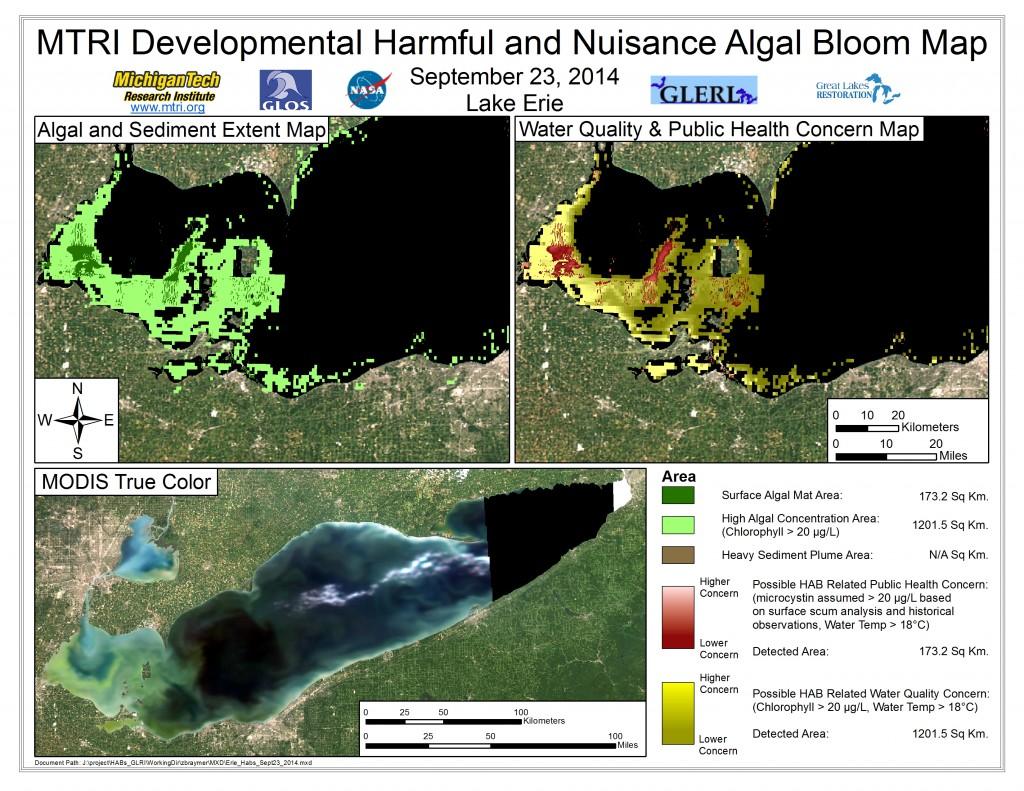 MODIS Aqua retrieval September 23, 2014