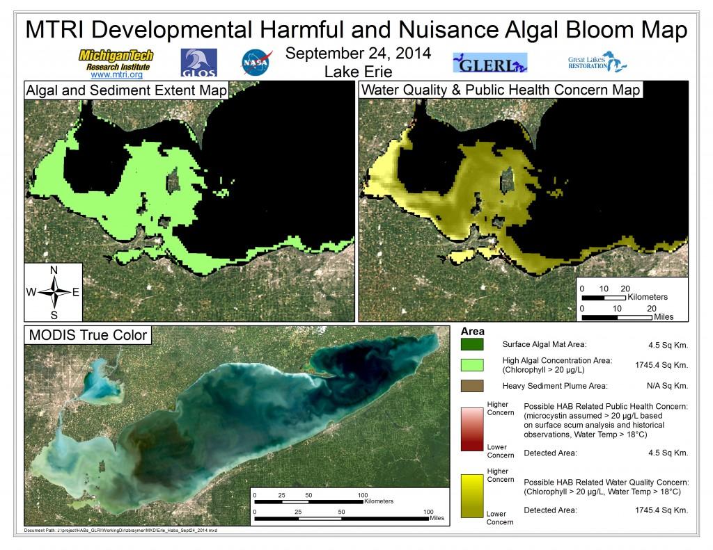 MODIS Aqua retrieval September 24, 2014