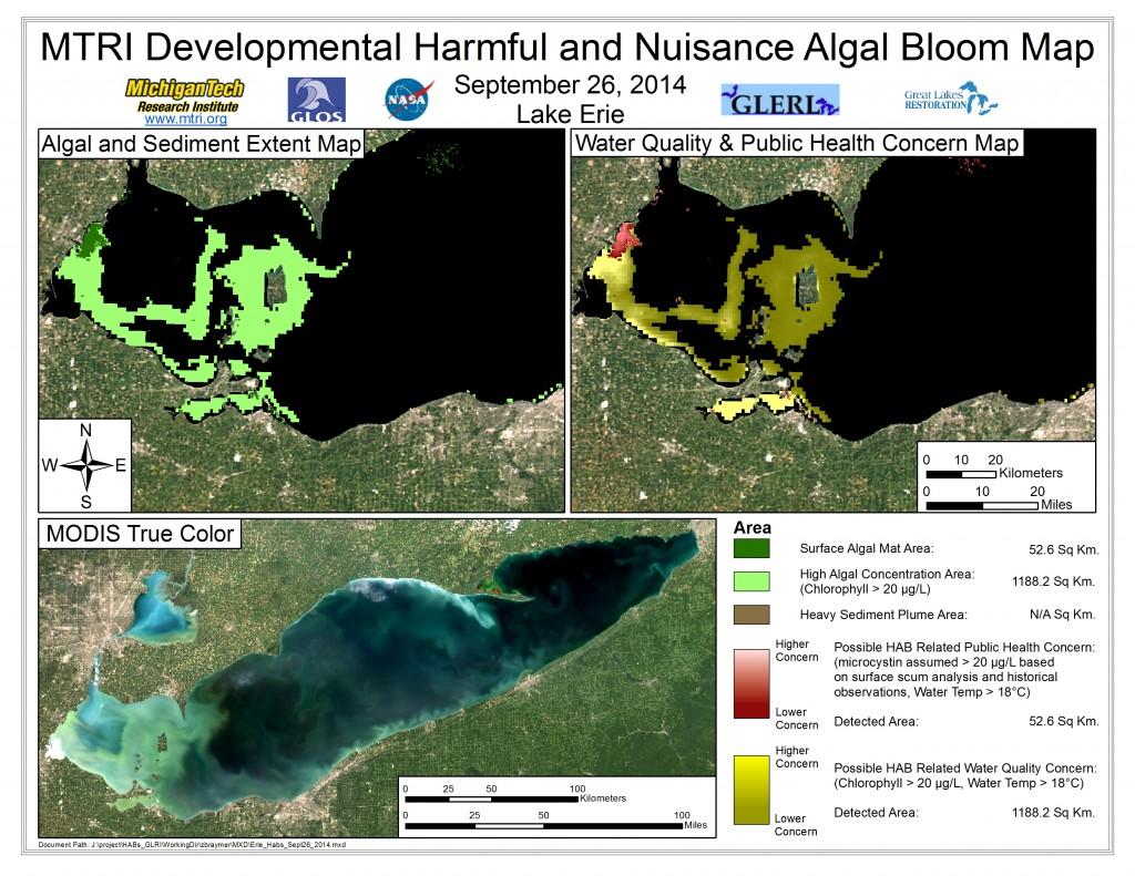 MODIS Aqua retrieval September 26, 2014