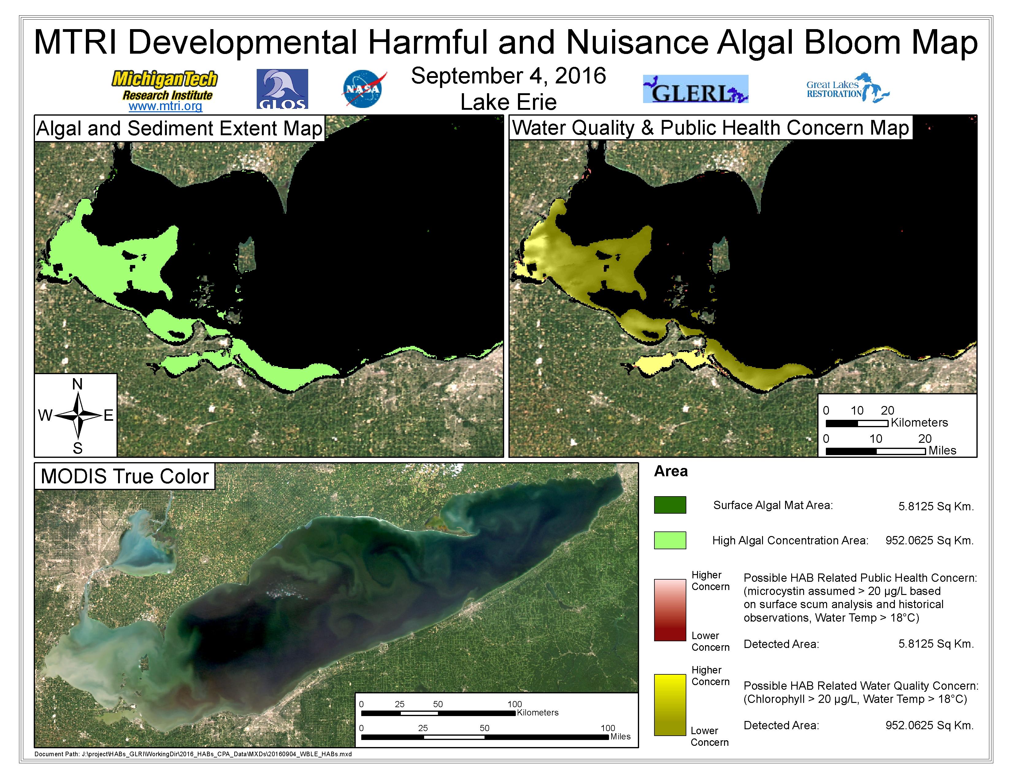 MODIS Aqua retrieval September 4, 2016