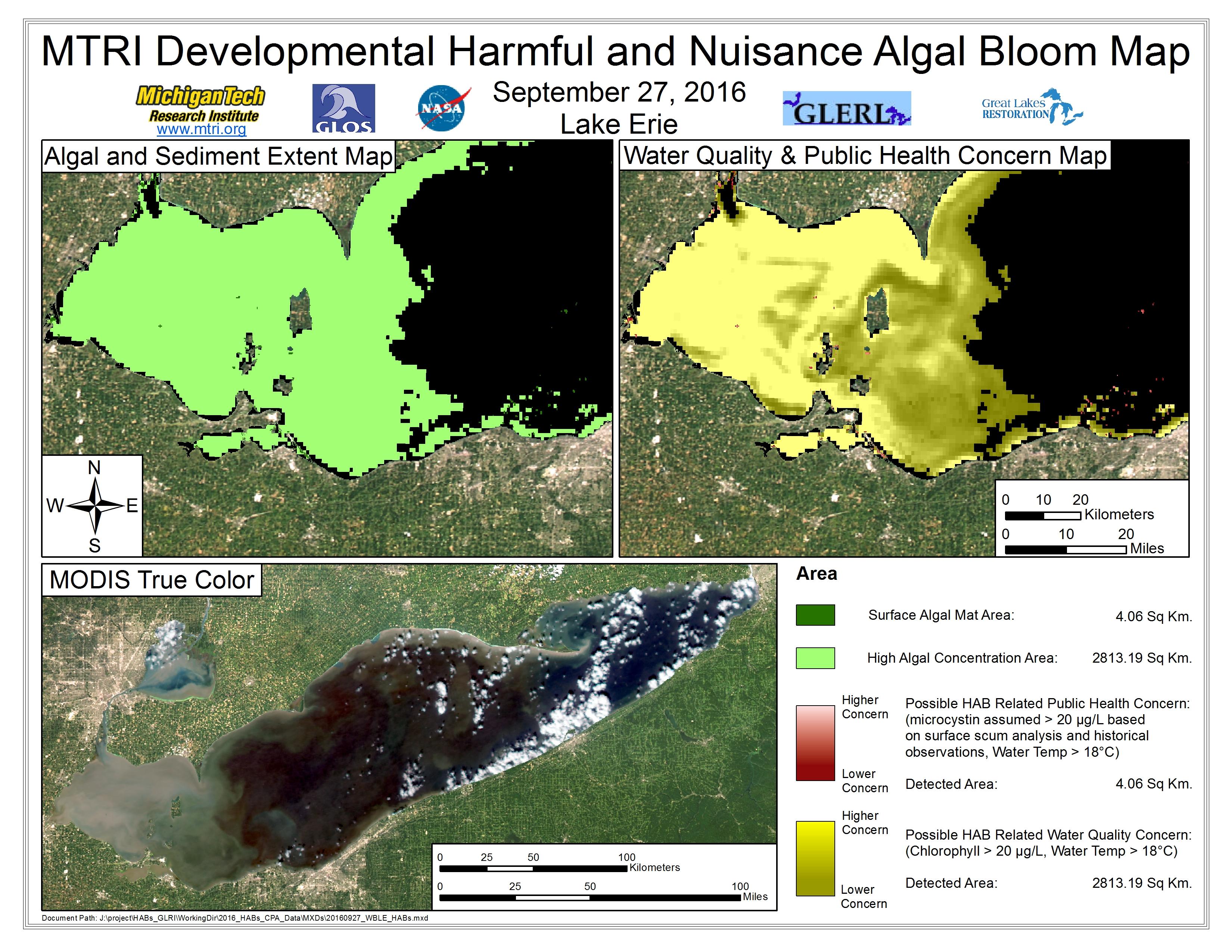 MODIS Aqua retrieval September 27, 2016
